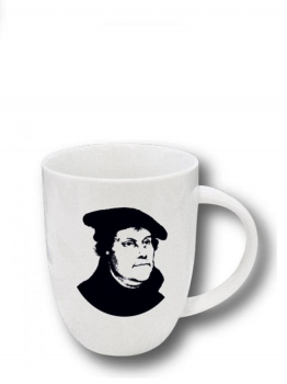 Luther-Tasse weiß
